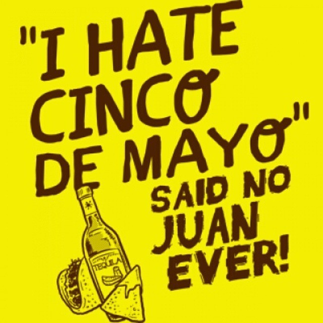 6pm tonight at Fernando's on Coursey!  #cincodedrinko