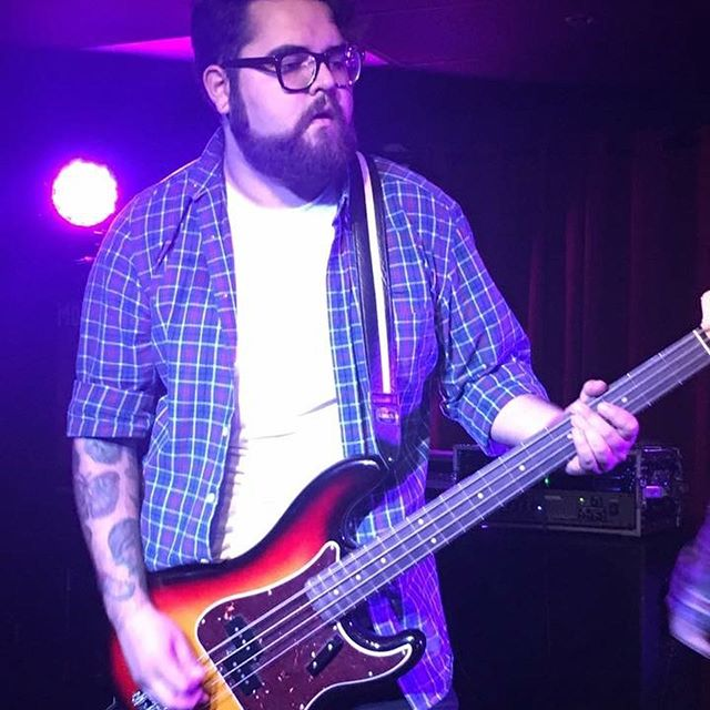 Here's some Gravler trivia for you. Did you know that nate has been both a guitar player and a bass player with us? Anyway it's his birthday,so make sure you guys send him some love because he's one of the coolest people on this planet and we're so lucky to have this beard wielding,Barbecue smoking,groove laying hunk of a man. Happy birthday @vizcarranate we love you - the rest of @gravlerca