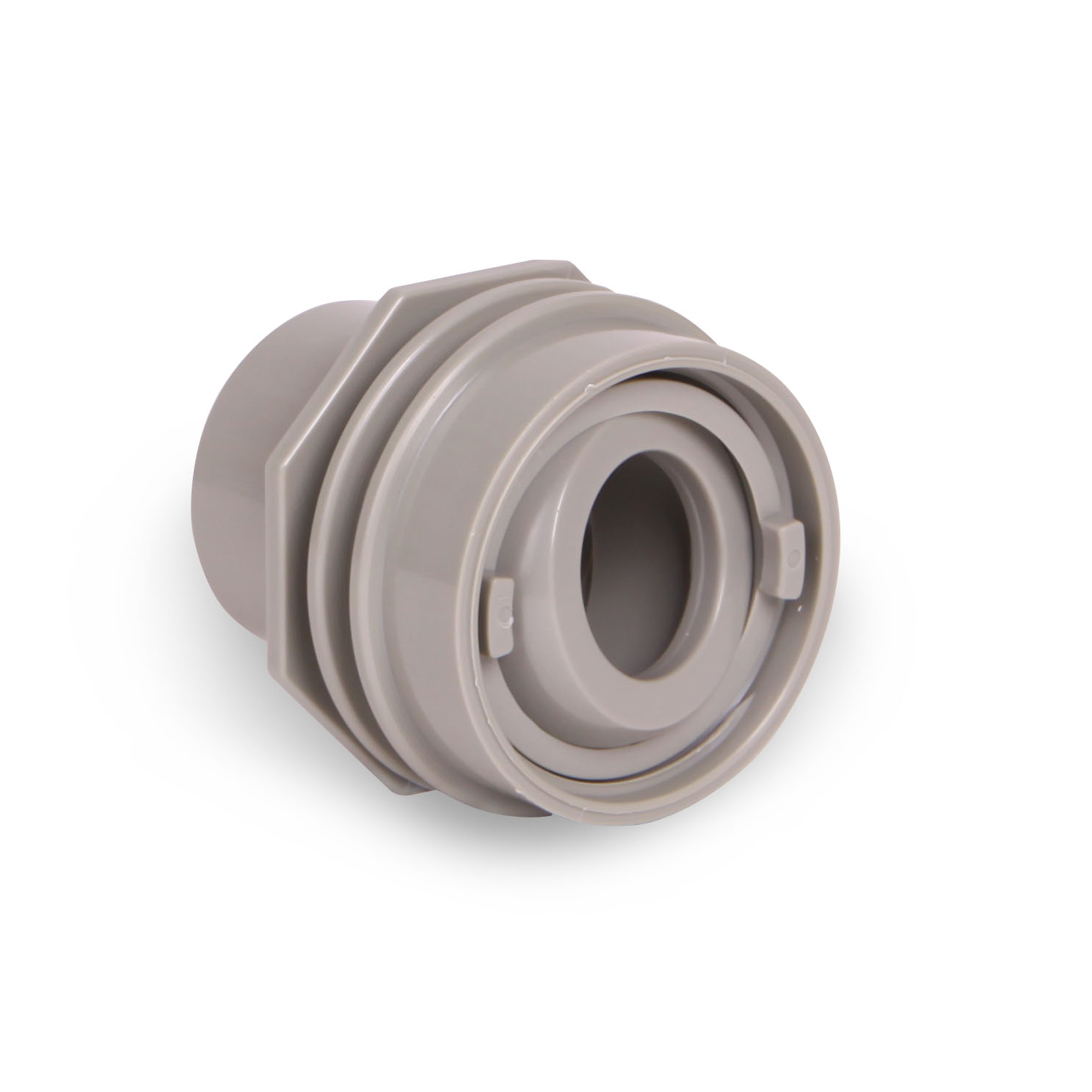 Flush Mount Return Fittings Light Gray