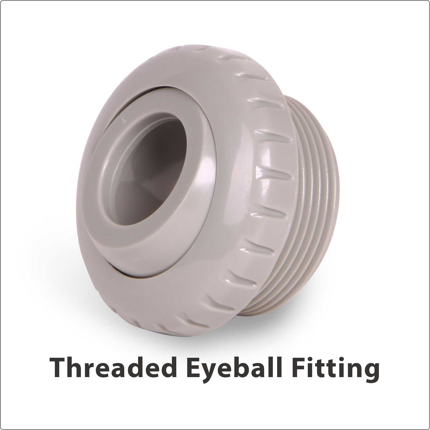 Threaded Eyeball Fitting