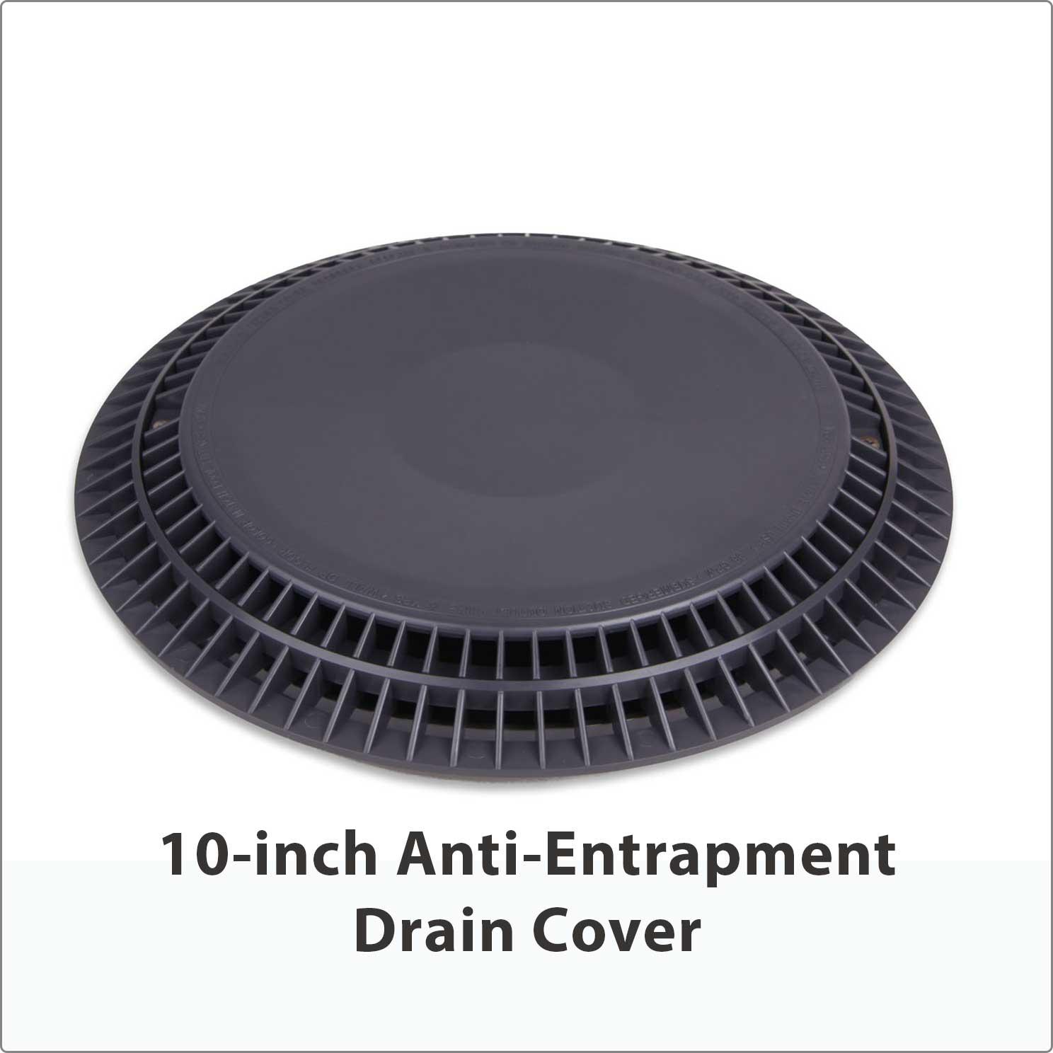 """10"""" Anti-Entrapment Drain Cover"""