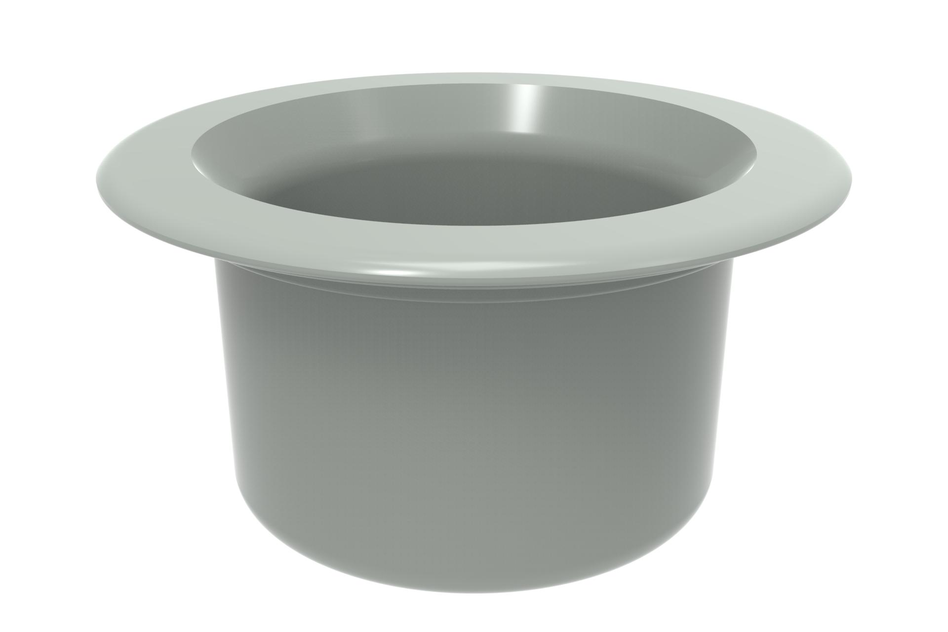 Retrofit Pebble Top Cap - comes empty ready to fill