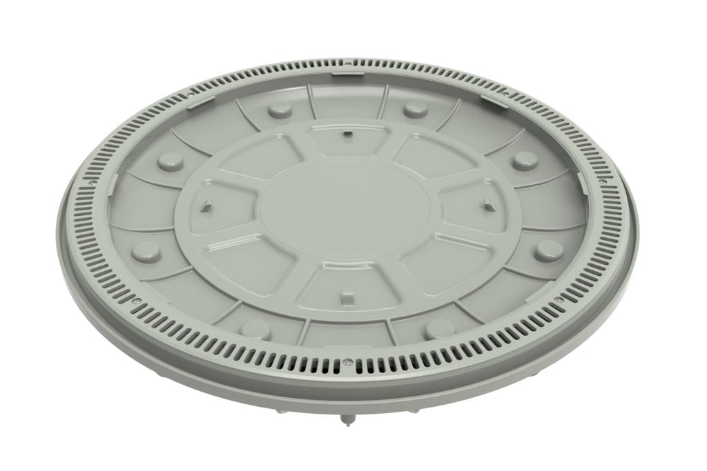 360 Pebble Top Drain Light Gray