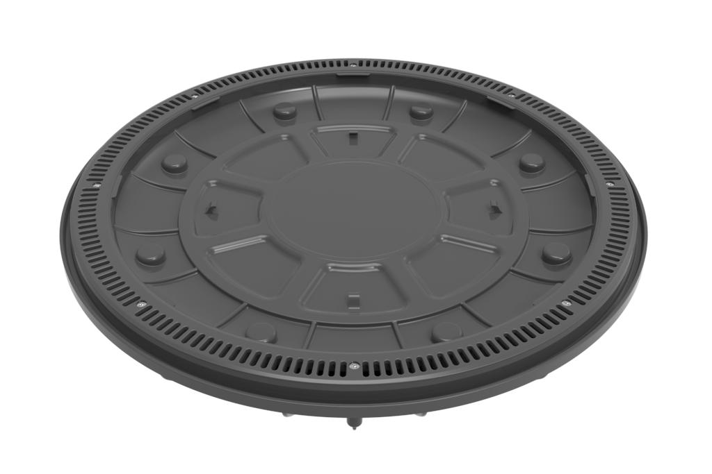 Dk Gray 360 Pebble Top Drain