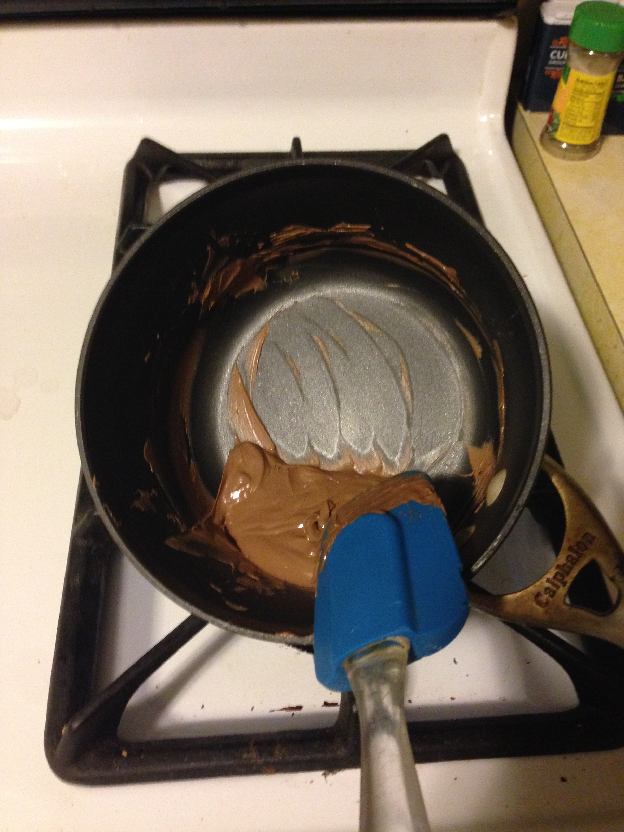 Melting chocolate, I really need a slow cooker or double boiler for this.