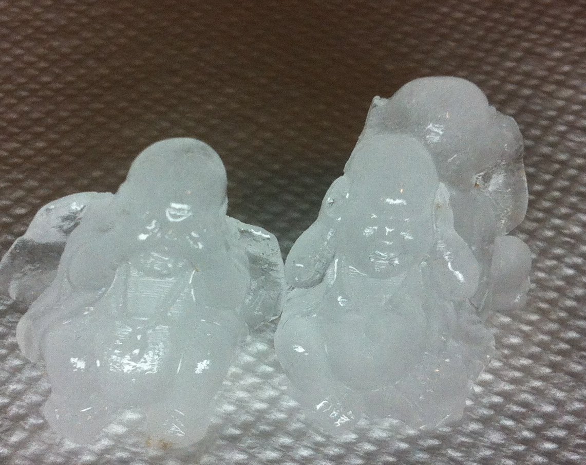Ice Buddhas! More pictures coming later!