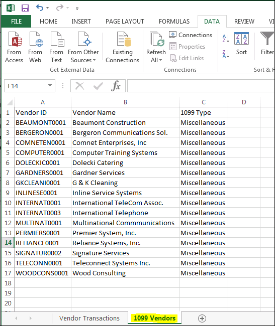 How to Edit and Generate 1099s with Dynamics GP 2013