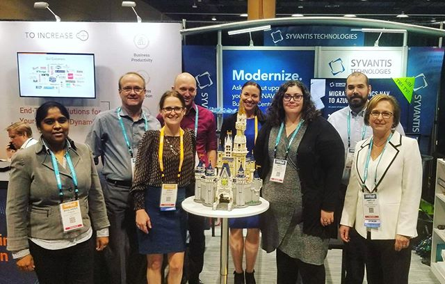Thanks to everyone who stopped by our booth at #usergroupsummit and helped us build our Disney castle!