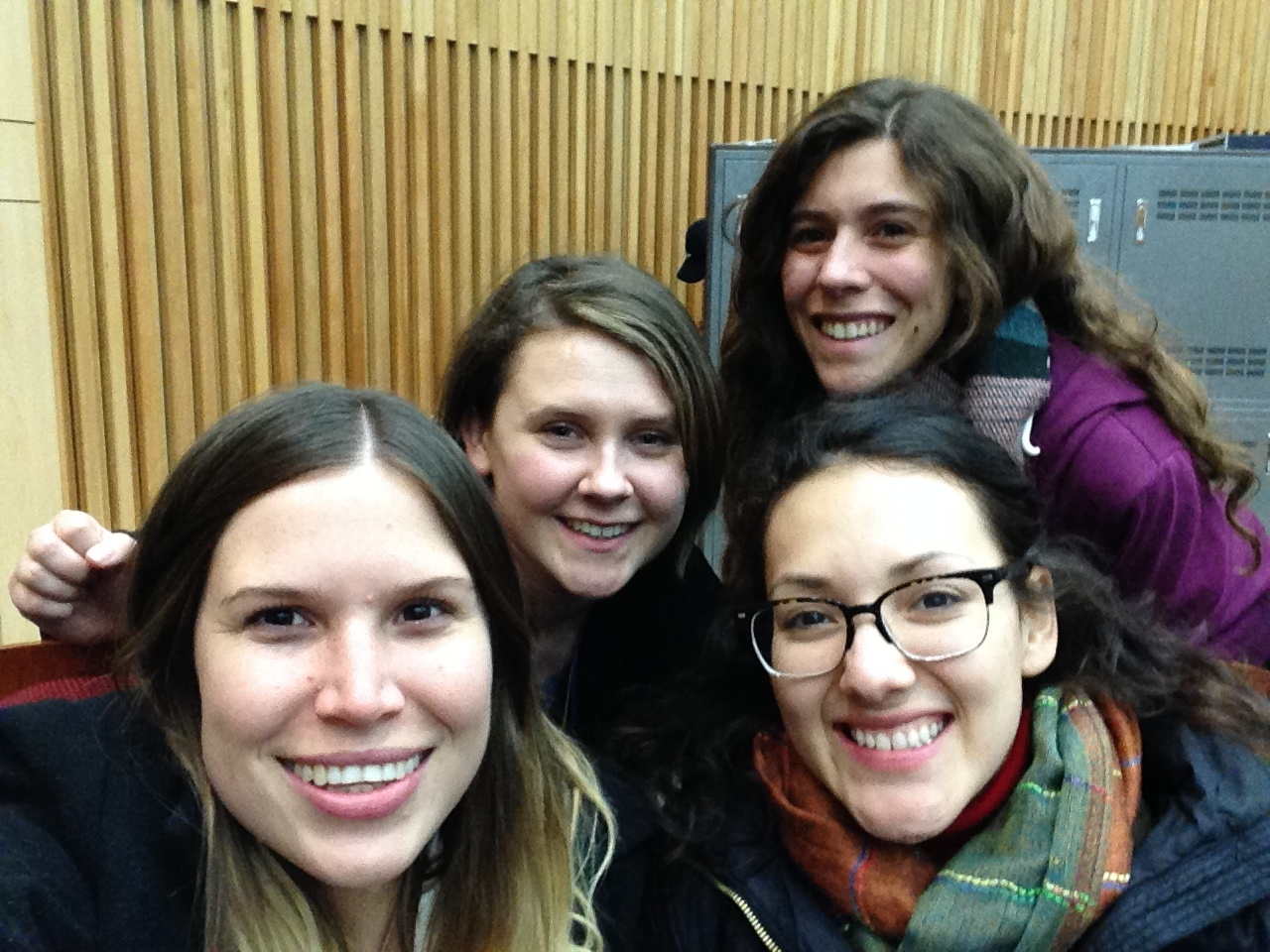 Some of the lovely people I met during orientation - Bianca, Ruth and Nastasia.