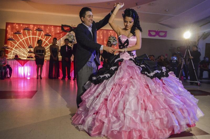 The quinceañera, a Latino rite of passage celebration