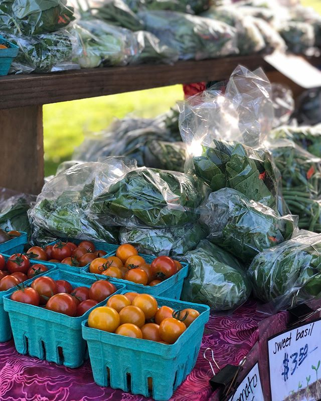 Endless veggies at the Ludlow Farmers Market! Stop by tomorrow between 4 and 7 p.m. to shop the local vendors! #SupportYourLocalFarmers