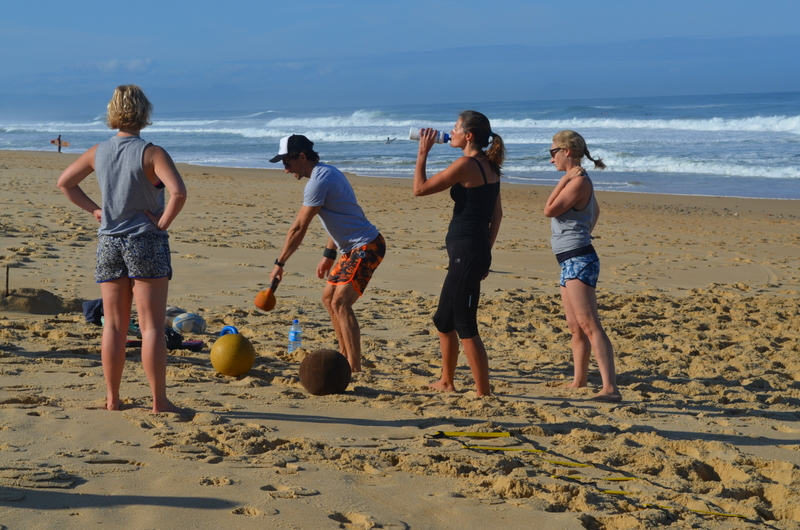 Beach Bootcamp in France with Bay Fitness
