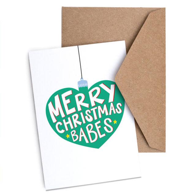 Merry Christmas Babes - £2.50