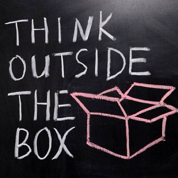 Thinking outside the box by LPHR Group - Writing with Design