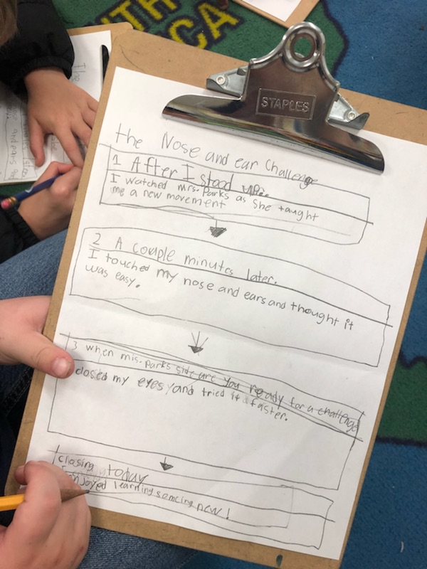 First grade narrative Group Write and student writings 1.jpg