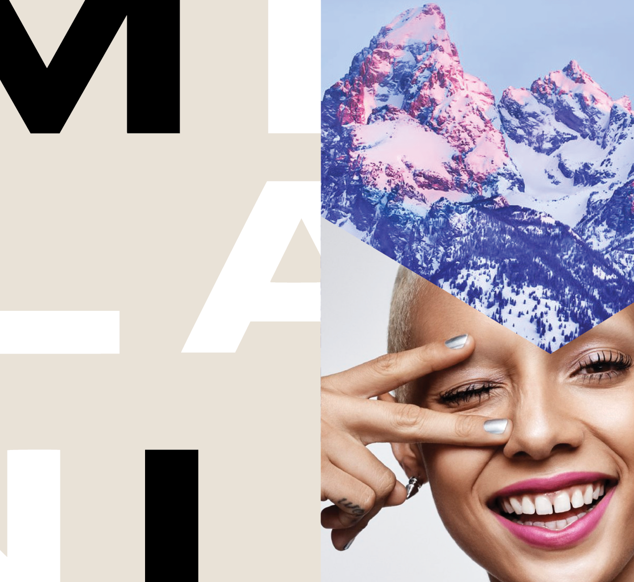 MilaniCosmetics - 2018re-brandingart directionpackaging