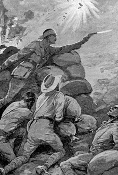 The Battle of Lone Pine