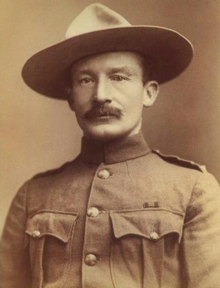 Robert Baden-Powell, 1896