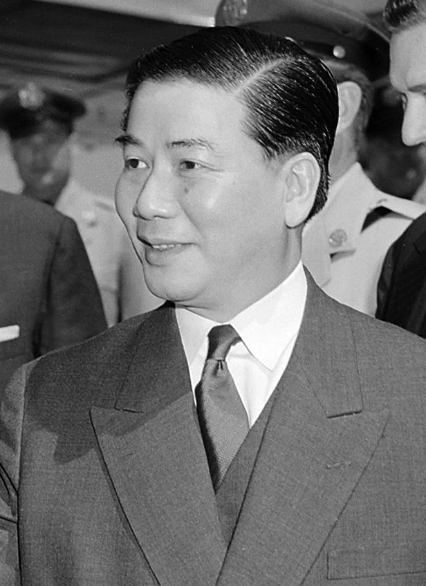 South Vietnam President Ngo Dinh Diem