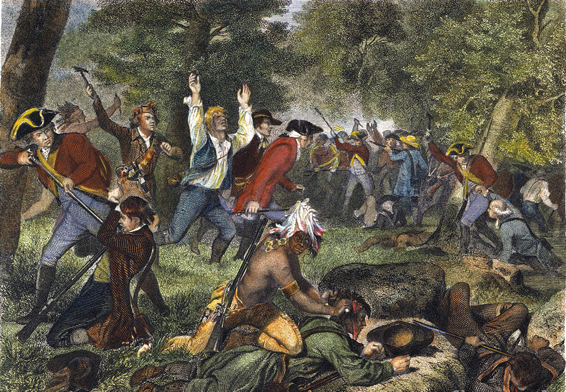 The Battle of Wyoming, July 3, 1778