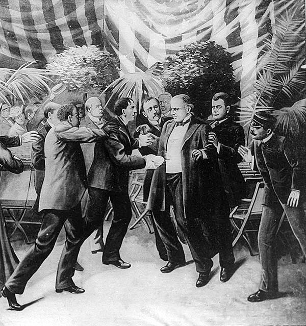 The assassination of President McKinley