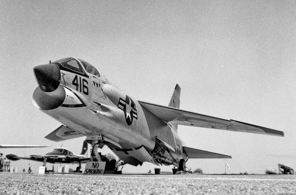 The Chance-Vought F8U Crusader