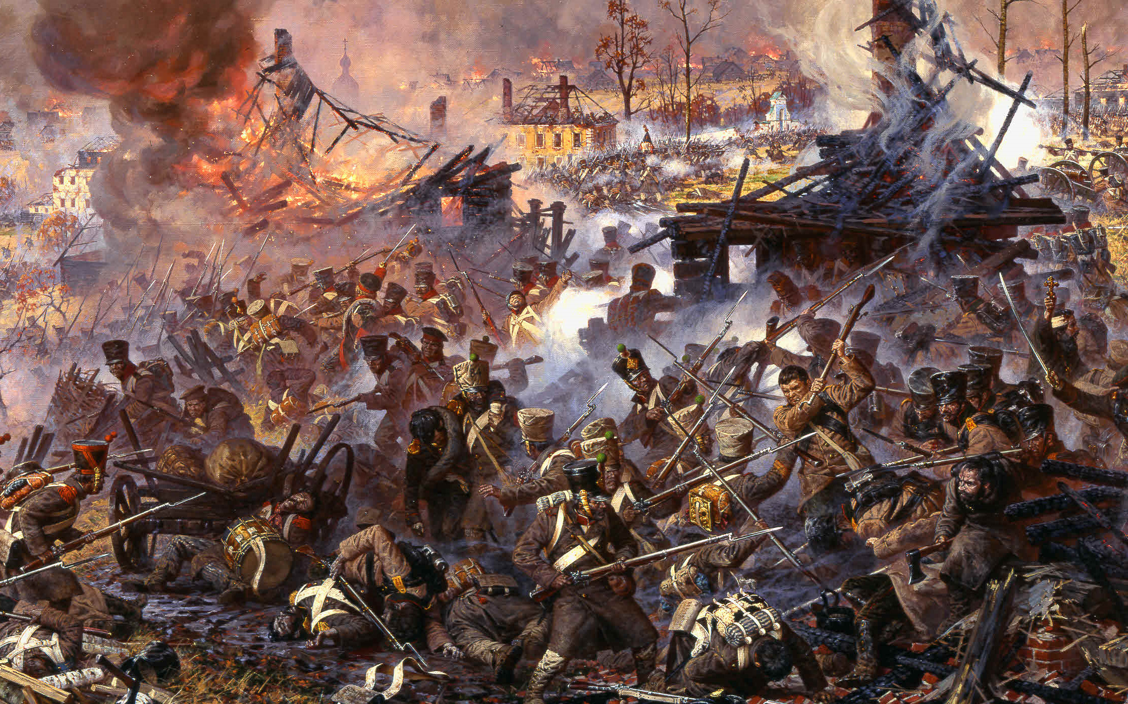 The Battle of Maloyaroslavets