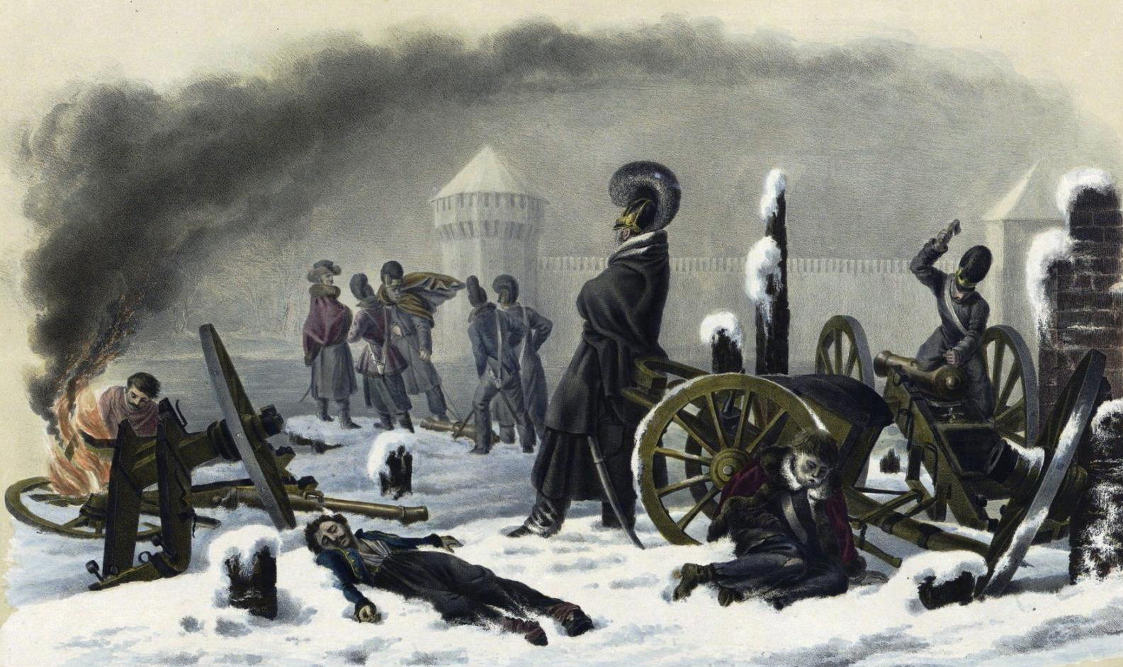 The return to Smolensk, November 1812