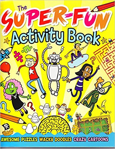 Super-Fun Activity Book - Published by Arcturus Publishing
