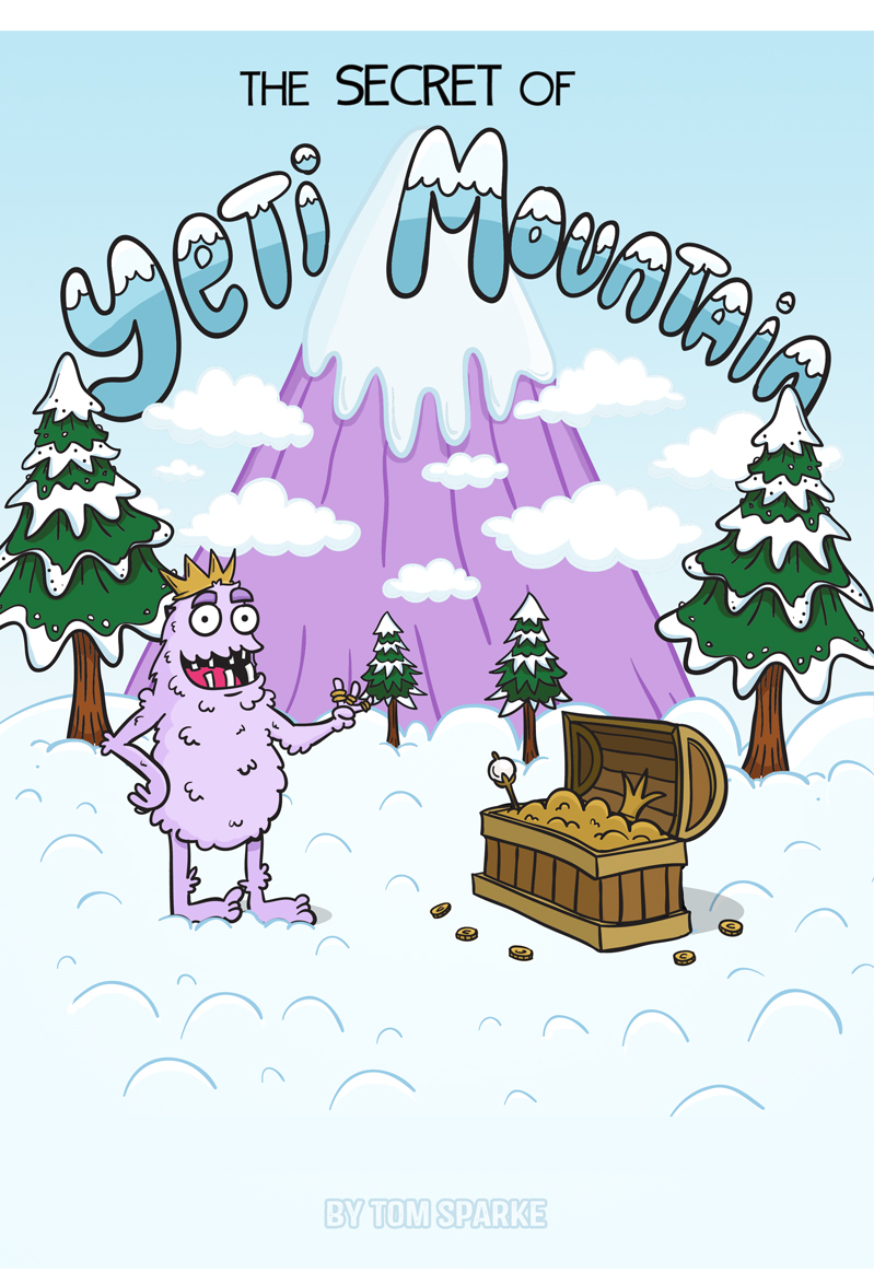 The Secret of Yeti Mountain - An Interactive Adventure comic