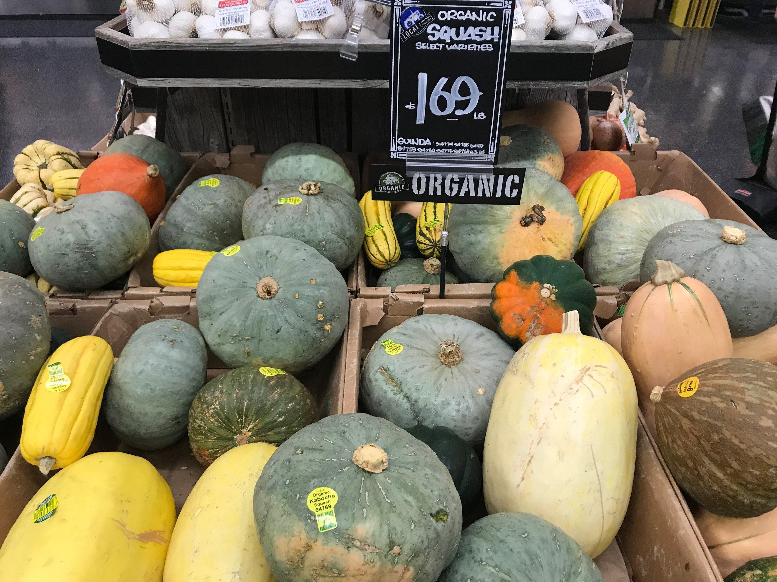 Sonoma Market 's assorted squash bounty.