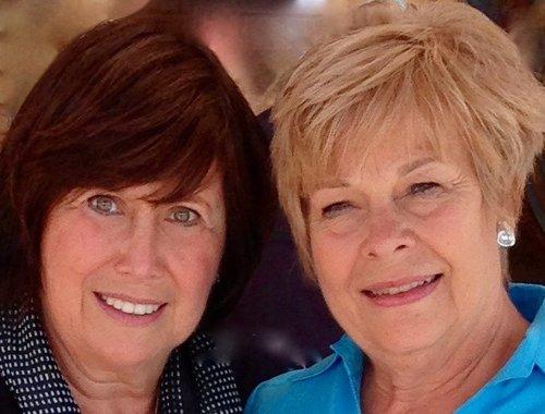 Joan and Sherrye