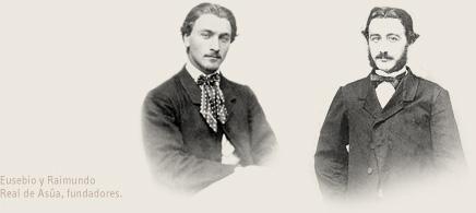 Founders of CVNE, brothers Raimundo and Eusebio Real de Asúa