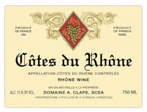 Monsieur Clape's Cornas is systematically considered the best in the appellation, constantly attaining the most amazing levels of excellence. There is always a extremely deep purple, almost black colour that exudes a never ending array of rich complex aromas of dried fruits, liquorice, spice and pepper.