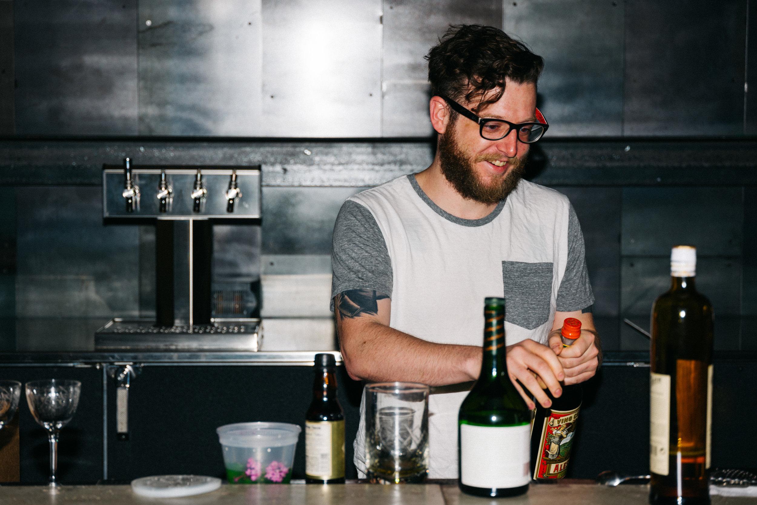 Bartender:Roger Landis  Smyth and Loyalist
