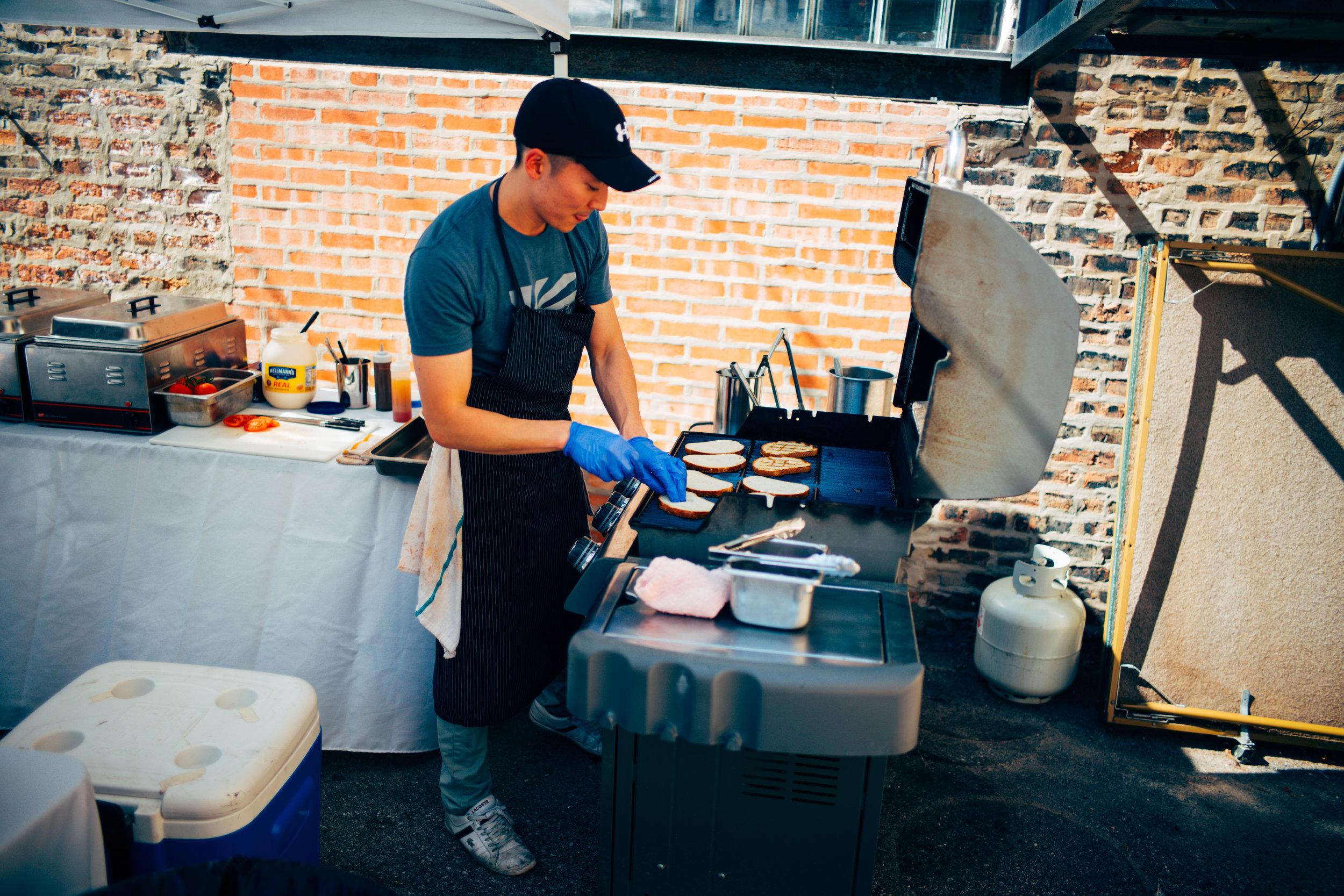 Jason Mortiz, Tenzing Chef.