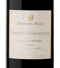 Domaine-Belle-Les-Pierrelles-Crozes-Hermitage-2007-Label.png