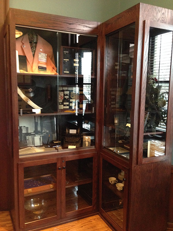 Custom Museum Cabinets built by hand Tennessee