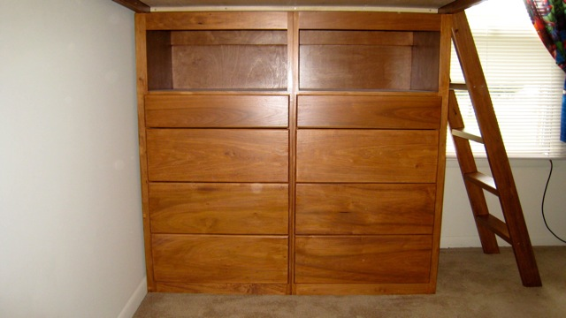Loft Beds with Dressers