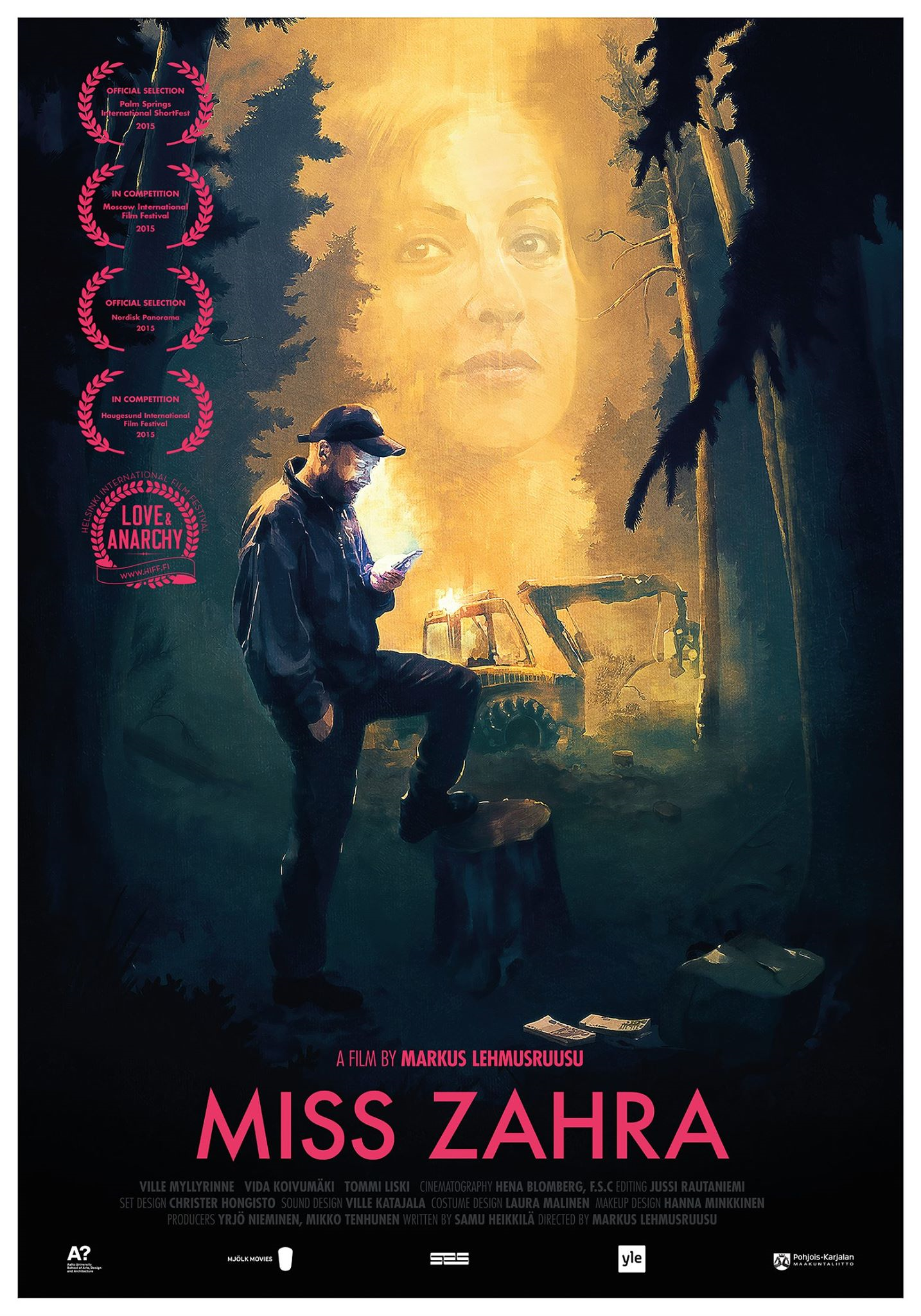MISS ZAHRA    dir. Markus Lehmusruusu   Mjölk Movies, 29 min   2015