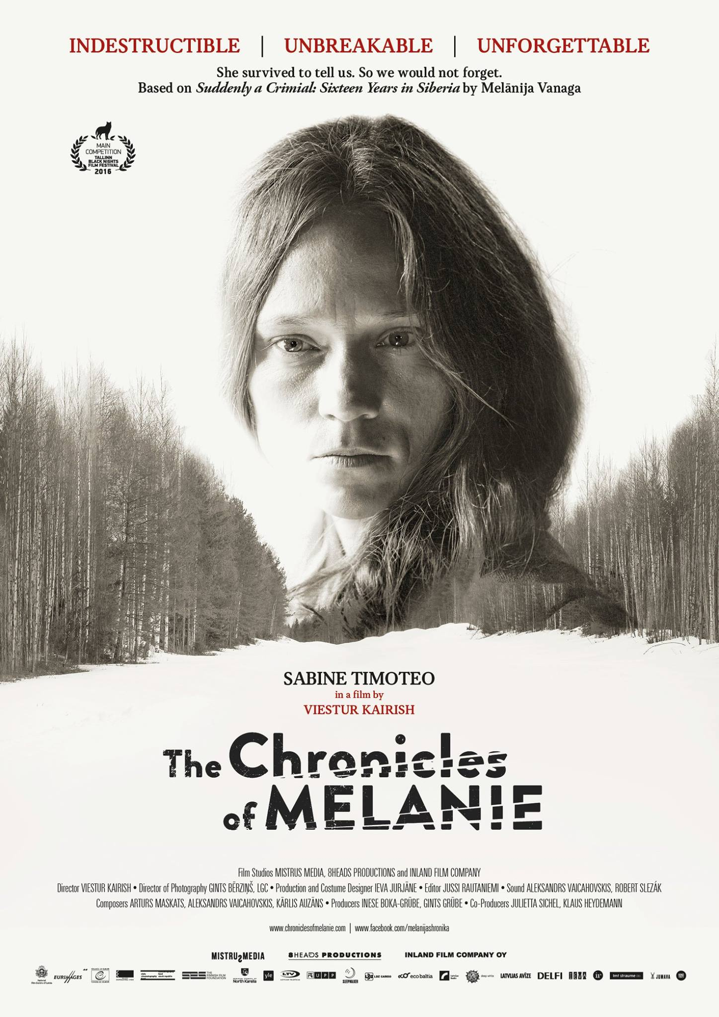 Chronicles of Melanie  dir. Viesturs Kairiss Mistrus media, Inland Film Company / 2016