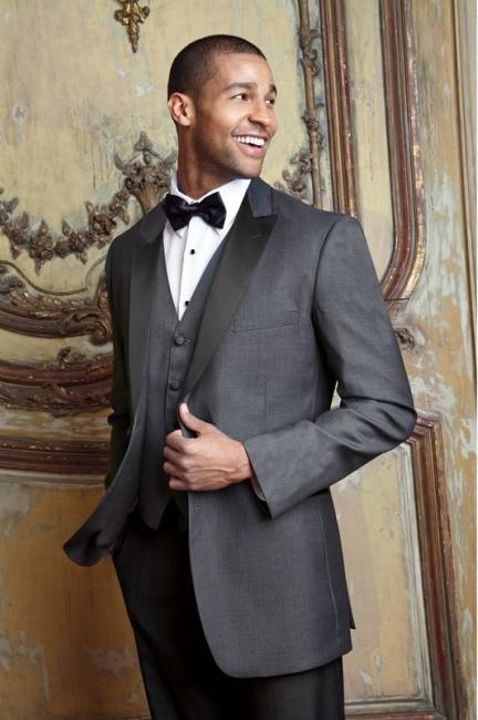 Steel Grey 'Fitzgerald' Tuxedo by Cardi