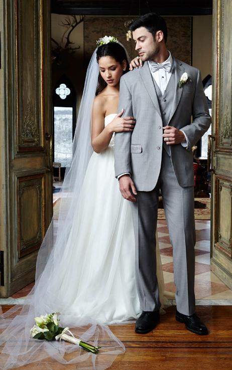 Heather Grey 'Aspen' Suit by Cardi