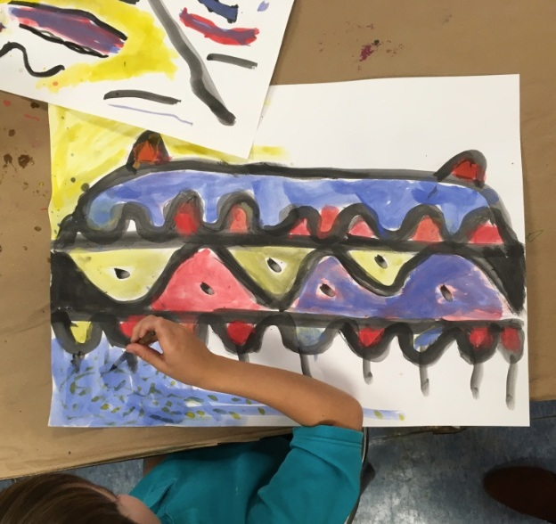 Black Line Junior: Introduction to Painting and Color Mixing