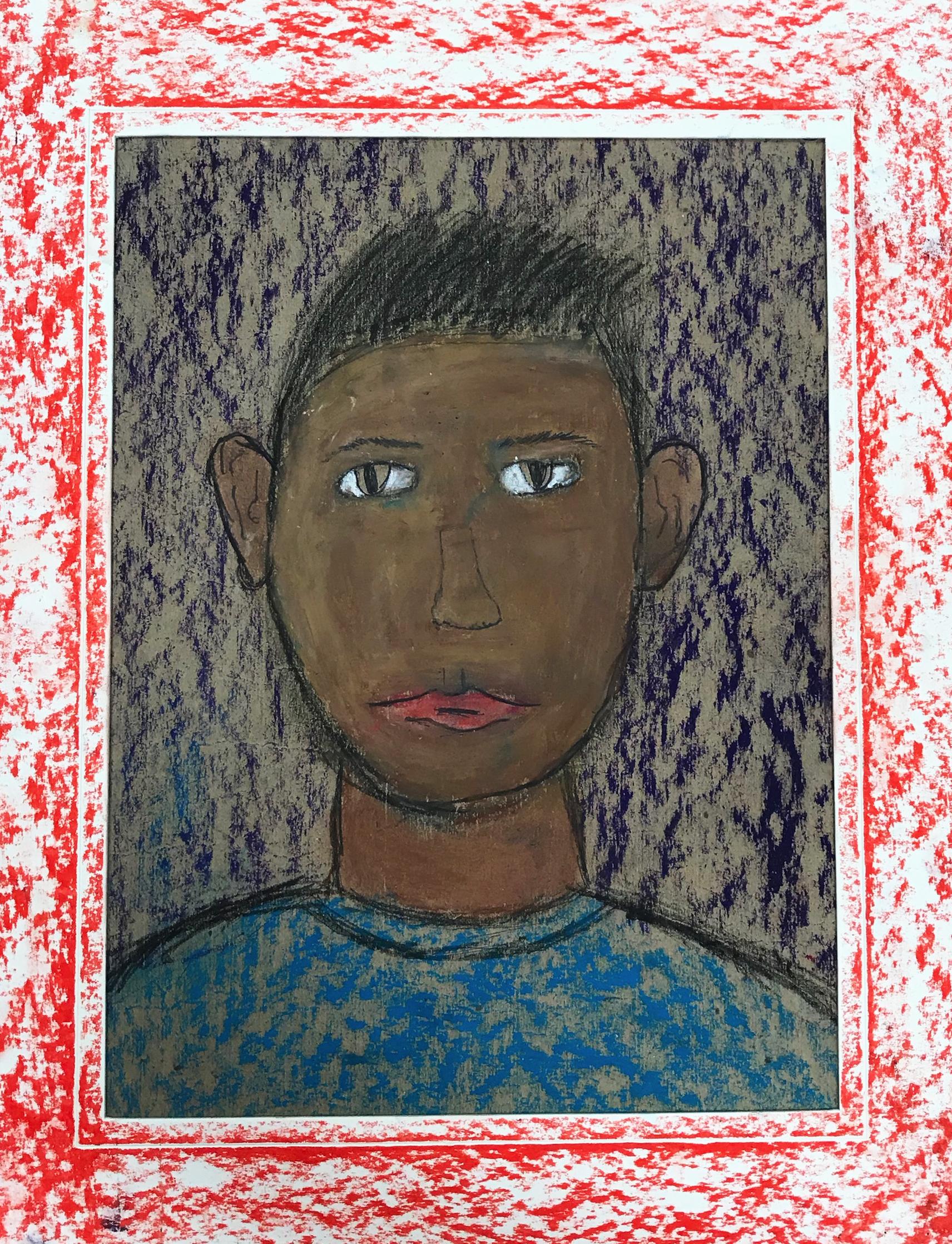 Self Portrait in Pastel   5th Grade  Prospect Hill Elementary School