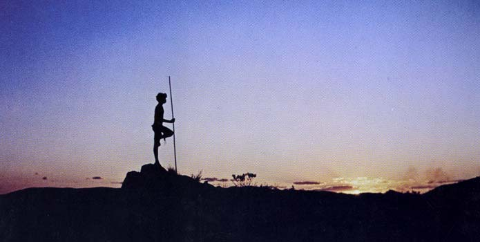 A still from Nicolas Roeg's seminal film, Walkabout. A major inspiration for me.