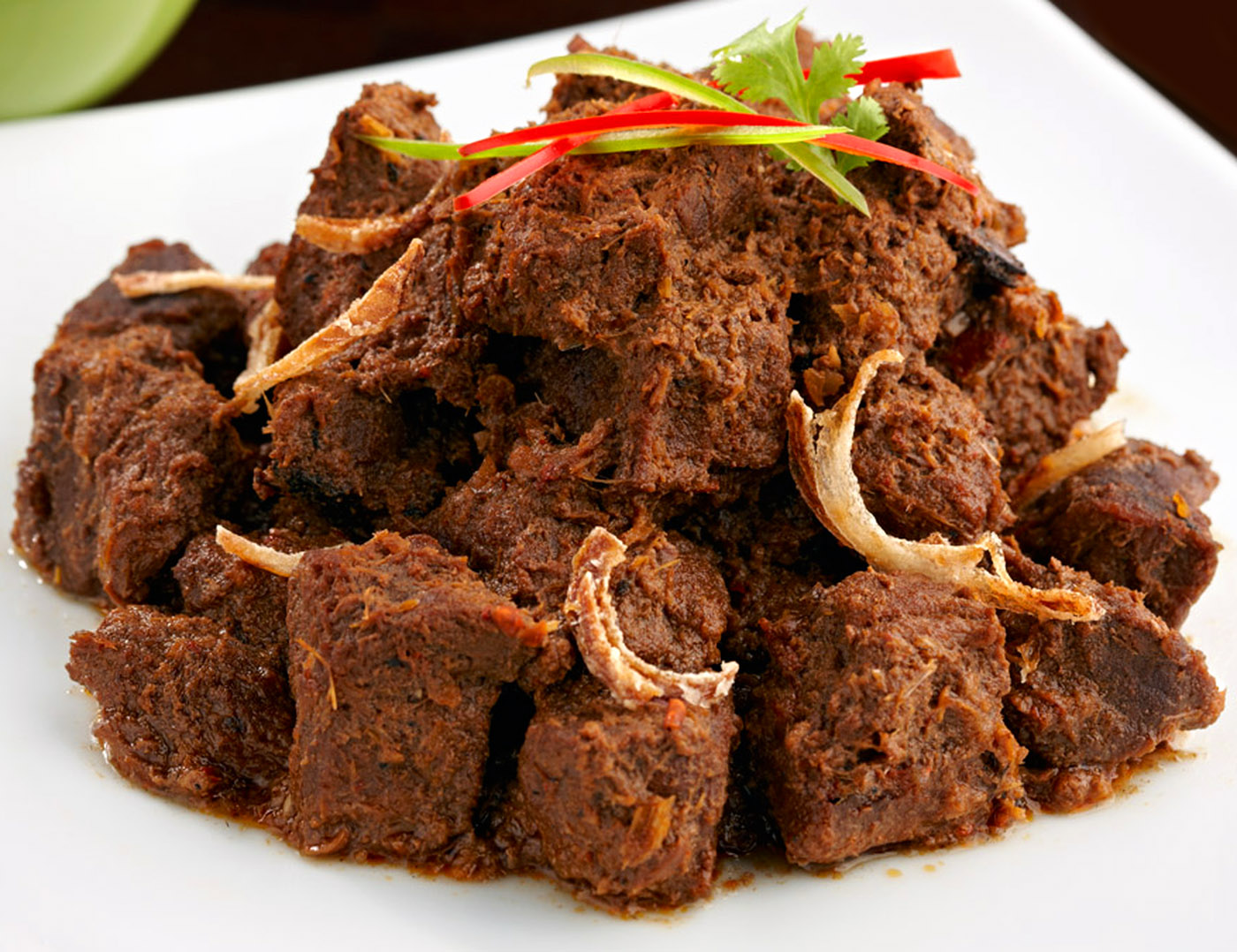 Redang padang, a divine Indonesian beef dish. Google Images.
