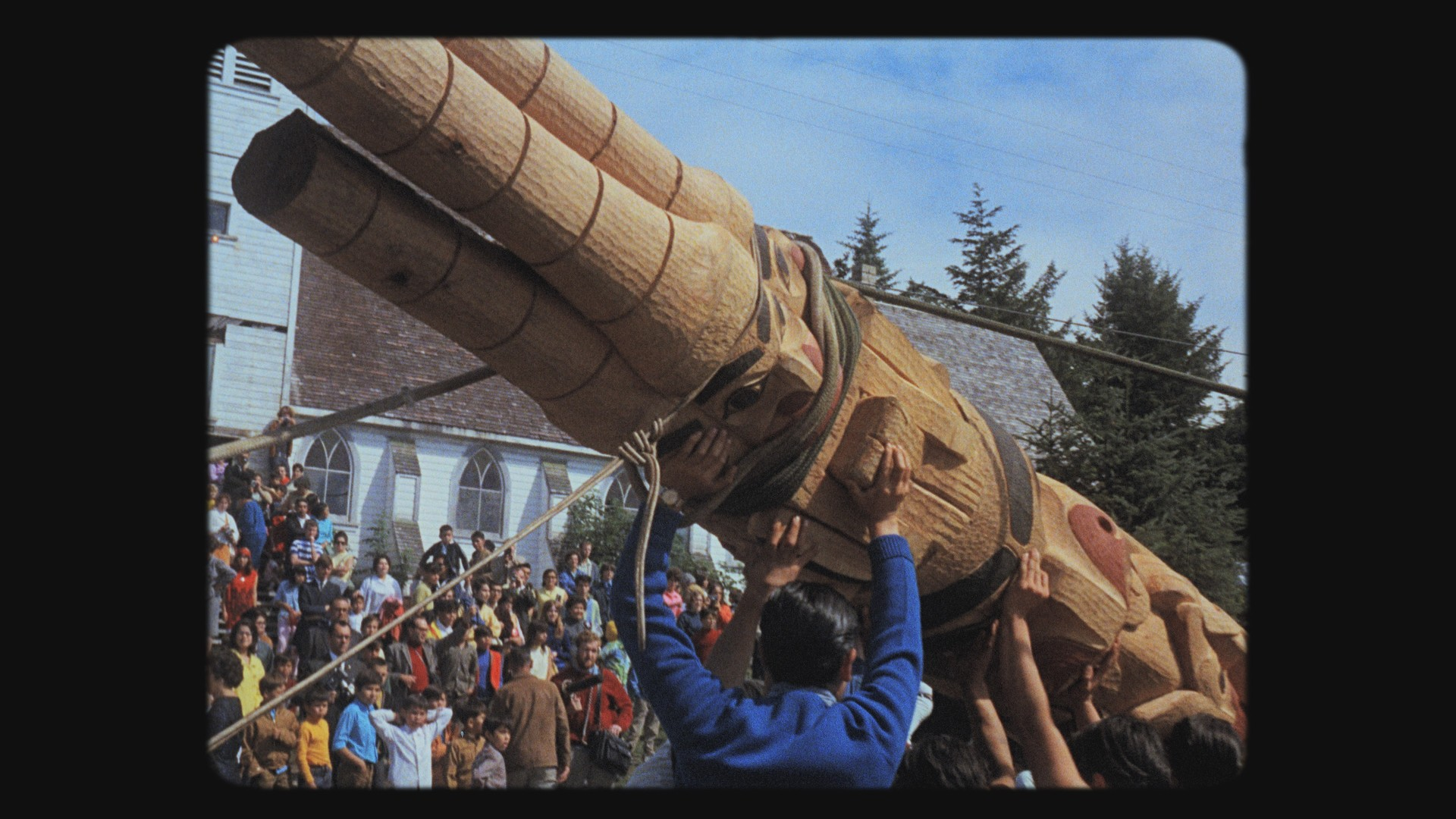 Now Is the Time - Director: Christopher Auchter16 m, Documentary Short, CanadaIn his quest to find answers as to why the totem pole disappeared from the Haida landscape for more than a century, Haida filmmaker, Christopher Auchter, visits renowned Haida carver Robert Davidson in his studio in White Rock, BC. Robert was the subject of the 1969 NFB documentary THIS WAS THE TIME, that raised more questions than it answered.