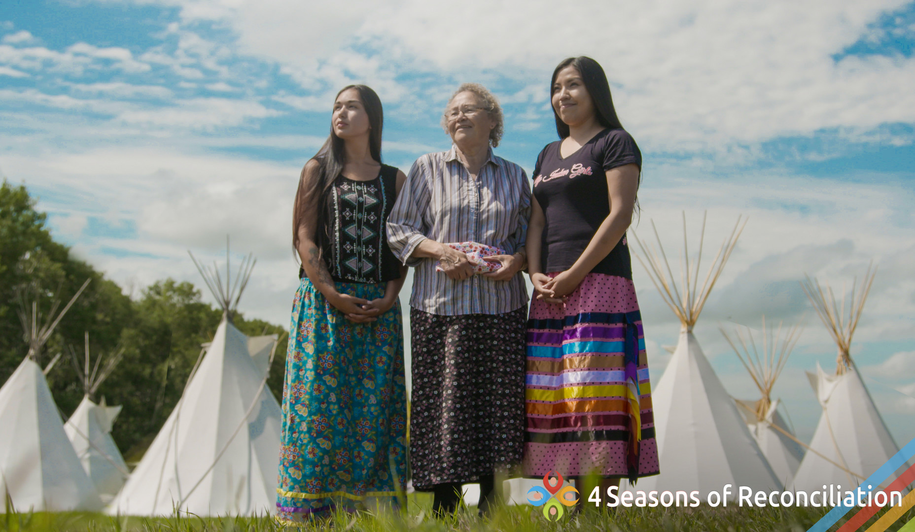 Âsônamâtowin - A Sharing of Indigenous Knowledge - Directors: Florence Allen, Willie Ermine, Roland Kaye, Gilbert Kewistep, Mary Lee, William Ratfoot, Margaret Reynolds26 m, Documentary Short, CanadaUntil the 1950's Canada's Indian Act made it illegal to practise Indigenous spiritual ceremonies. Witness the return to spiritual traditions and the Elders who are sharing what was once hidden knowledge. Filmed in the fields and forests of First Nations lands across western Canada, 'Âsônamâtowin a Sharing of Indigenous Knowledge' was envisioned and directed by the Elder's Circle of the First Nations University of Canada.