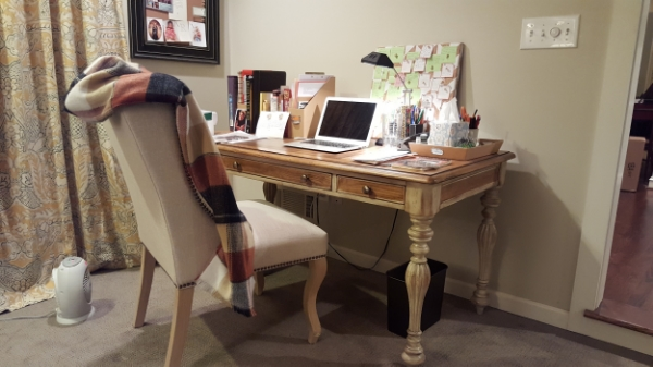 Have to be warm and cozy when writing!